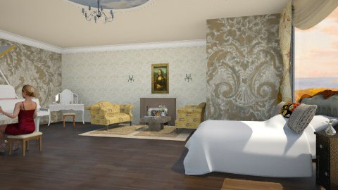 Vintage - Bedroom - by Chanell2