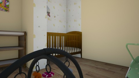 Winne the Pooh - Retro - Kids room  - by love Tully love