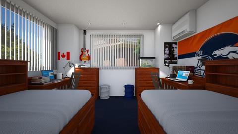Student Apartment Bdrm 1 - Bedroom  - by SammyJPili