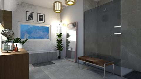 All About The Tiles - Bathroom - by Augjen