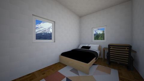 modern bedrom - Modern - Bedroom  - by zlgwil