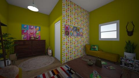 My first attempt 4 - Vintage - Living room  - by Perpetto