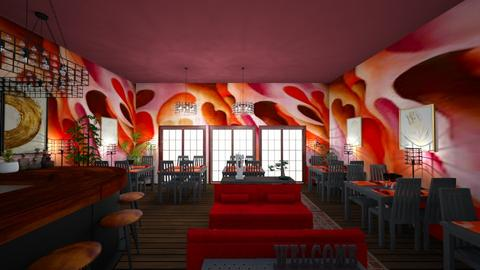 okeeffe restaurant - by imapixie