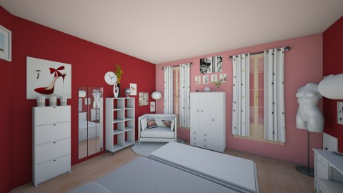 Girl room 2 - Glamour - Bedroom  - by Mah003