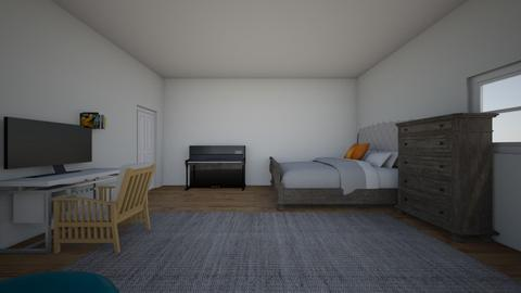 My room - Minimal - Bedroom  - by Adri UwU