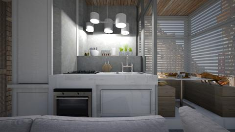 Casa209KitchenandDining - Eclectic - Kitchen  - by nickynunes