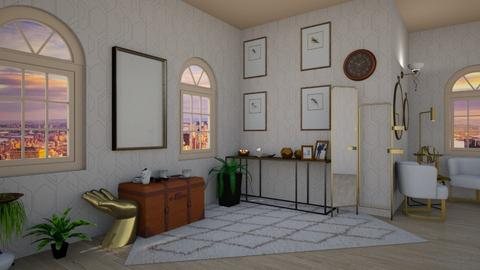 Brass - Vintage - Living room  - by Twice and Momo