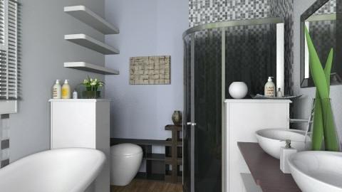 Master Bathroom - Modern - Bathroom - by smccauley029