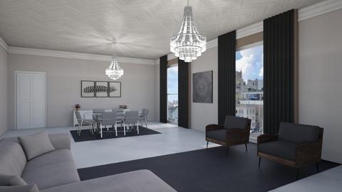 26 E 63rd St Apt 11F New - Living room  - by sfurkan