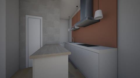 first floor 2 - Modern - Living room  - by iancarlg
