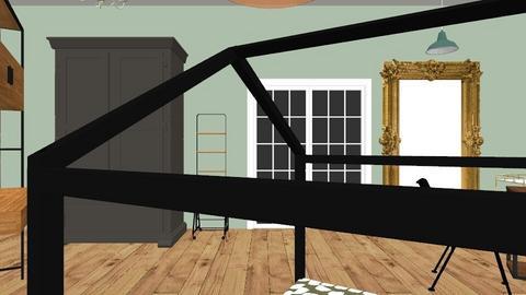 room Dreieck 17mai  - Vintage - Bedroom  - by ozgenmg_
