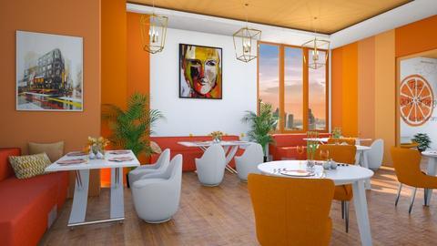 The shady orange - by ginamelia22