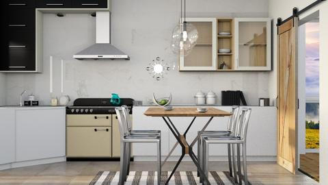 Scandinavia  - Modern - Kitchen  - by Gurns