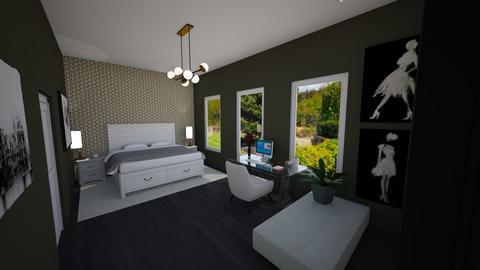 small room - Bedroom - by beatrizrauta