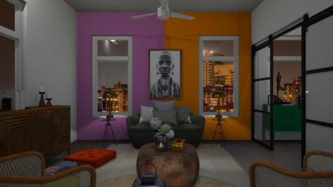 Two Room Contest - Eclectic - Living room  - by wendyisp