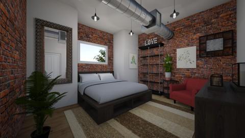 First Bedroom Draft - by 016mejias