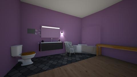 room - Bathroom - by popforrest8369