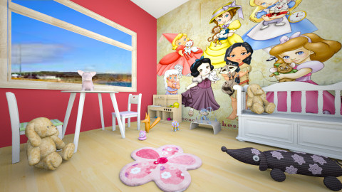 play room - Kids room  - by Alixandria Wolff