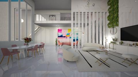 Antonella - Living room  - by diegobbf
