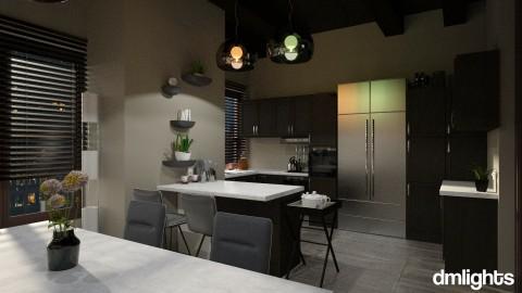 Grey gold palette - Kitchen  - by DMLights-user-991288
