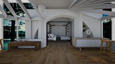garden bedroom - Bedroom  - by crying_room