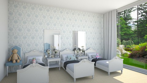 minimal - Classic - Kids room  - by daniellelouw