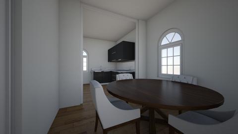 huis van nathalie flahaut - Dining room  - by ANGELOTUMMINO