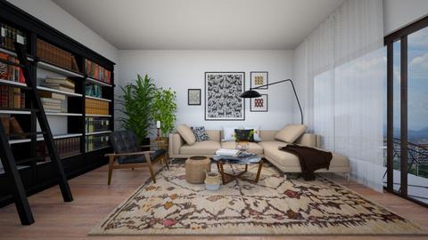 Modern Boho Livingroom - Modern - Living room  - by Nitzan Rotshild