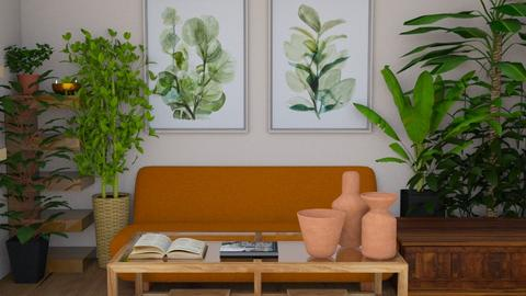 Chill plant vibes - Living room  - by KatCreate