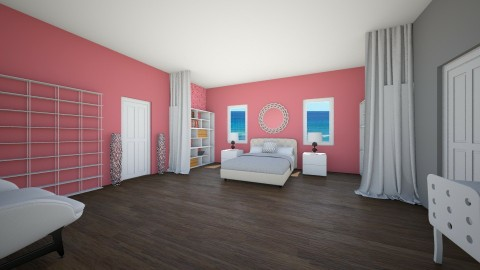 Pink Bedroom Design - Feminine - Bedroom  - by ansleymwhitaker