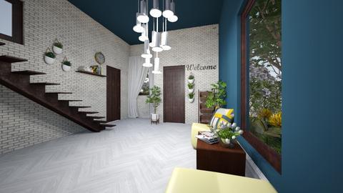 Playful hallway - Modern - by samantha1010