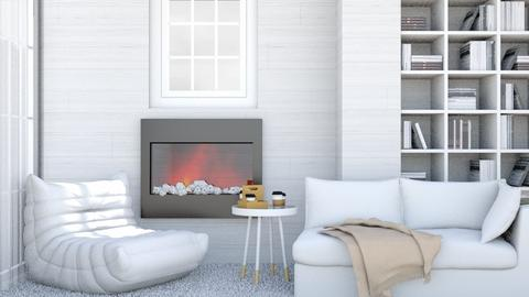 Cozy cottage - Modern - Living room  - by matildabeast