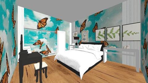 Lazy Room  - Modern - Bedroom  - by halamehi