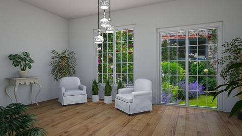 Room 24 - Living room - by Tiffany Y