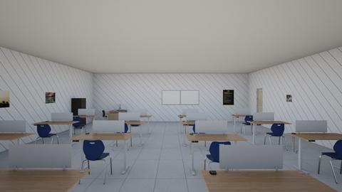 High School Classroom - Classic - Office  - by Miggy_34