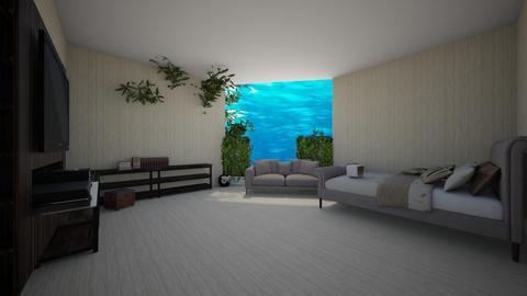 TF is OUTSIDE attic - Bedroom  - by vivi_morena