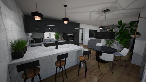 kuchnia na aranzacje - Kitchen - by OliwkaK