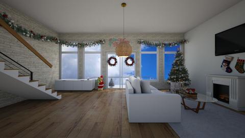 Christmas  - Living room  - by XenaChico