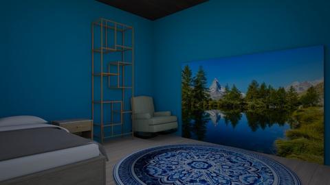 calming bedroom - Bedroom - by eh0888