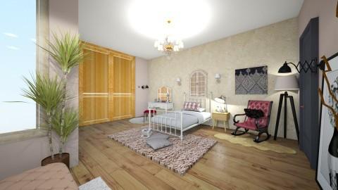 Goblin Theme Room  - Modern - Bedroom  - by xmlna