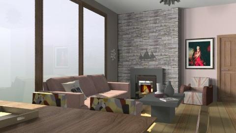 33 - Country - Living room  - by SErleti Effi
