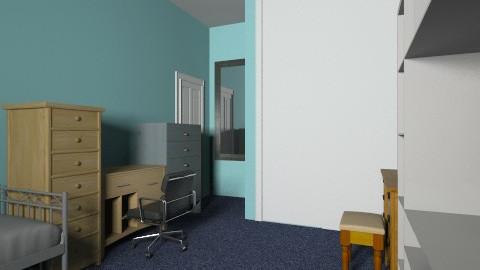 Atomic Deco - Retro - Bedroom  - by gubwolley12
