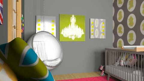 British Pop Culture Nursery - Eclectic - Kids room - by Midnight Sun