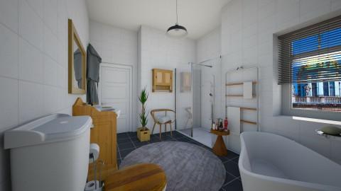Apt  bathroom - Bathroom  - by martinabb