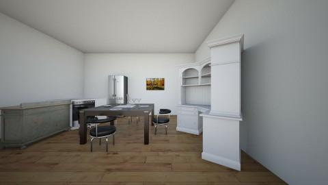 fancy dinner - Dining room - by MBlocker7125