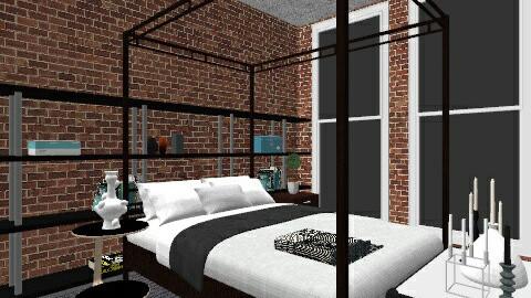 i - Bedroom - by nicole851