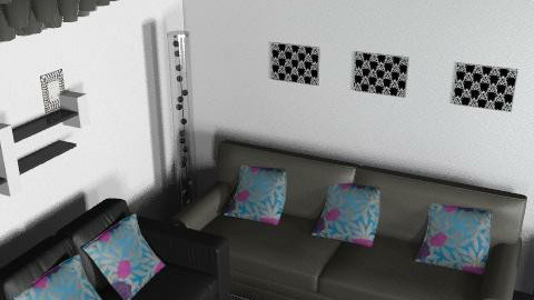 Claires Room 3 - Retro - Living room  - by claire321