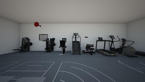 gym - Vintage - by feroroer