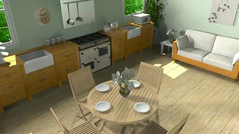 kitchen/diner - Country - Kitchen - by meganjoy