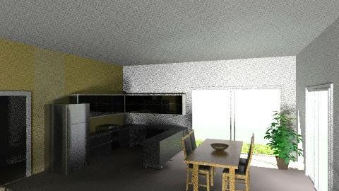 Cocina - Rustic - Kitchen - by lulinavarro